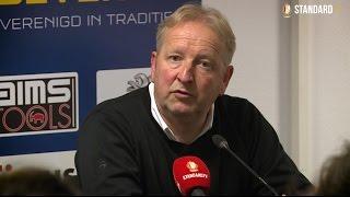 José Jeunechamps après la victoire à Waasland-Beveren (1-3)