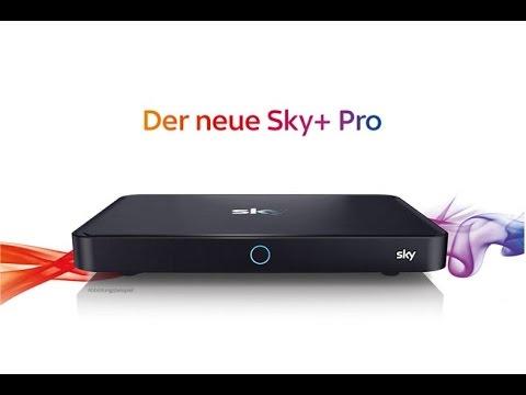 vorstellung der sky pro ultra hd satbox youtube. Black Bedroom Furniture Sets. Home Design Ideas