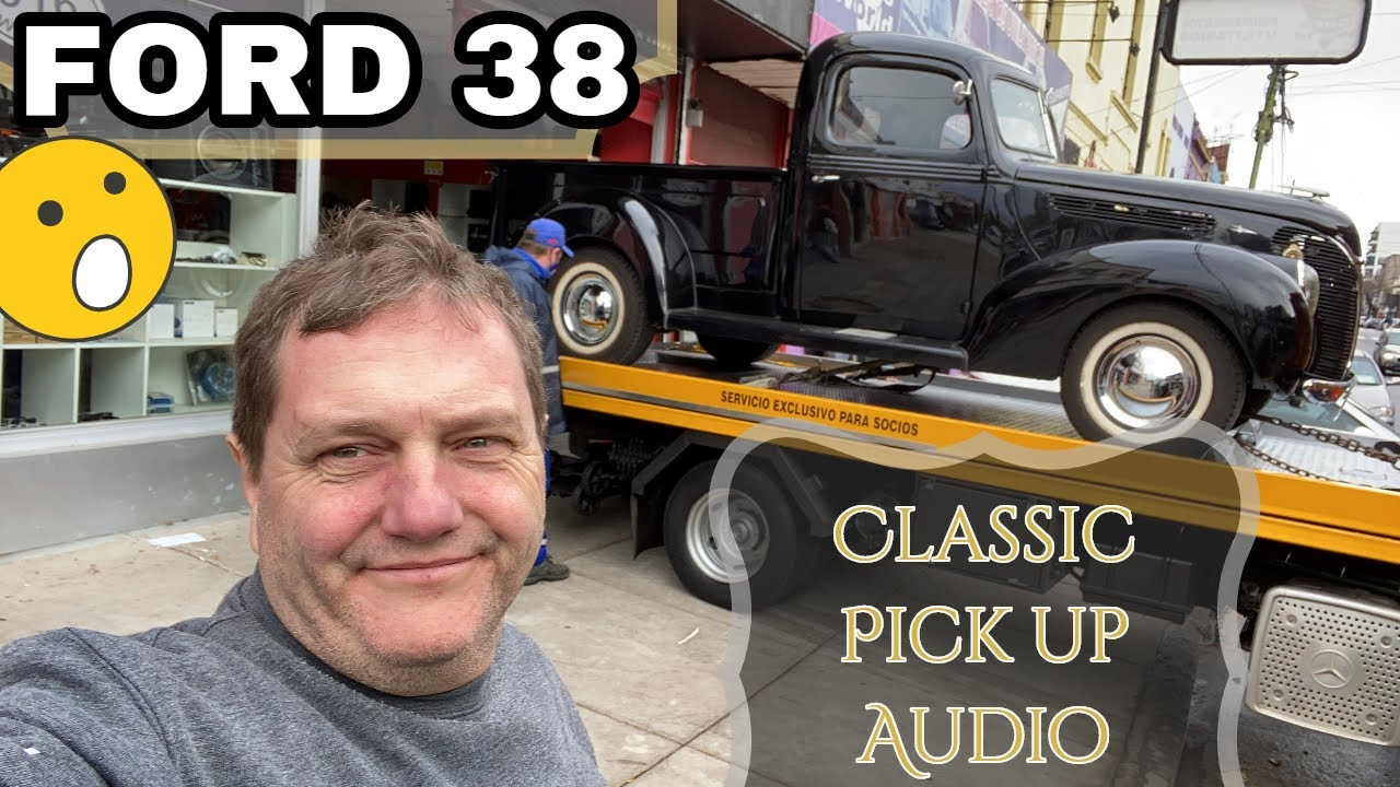 Llegó la Grúa 😱 | Planeamos el Sistema de Audio Para Pick Up Ford Clásica 1938 | Instaler Car Audio