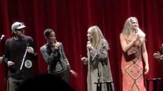 Carly Simon ~ Anticipation/Close Your Eyes/Lean on Me ~ Wellesley, MA 11.22.14