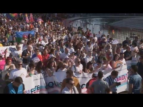 Madrid se echa a la calle para celebrar el Orgullo
