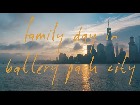 family day in battery park city - in 4K