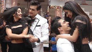 Shivangi Joshi And Mohsin Khan Dance At YRKKH 2800 Episode Celebration Party