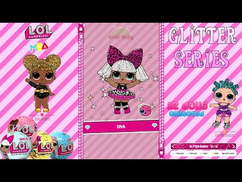 amazing!!-12-dolls-collected-glitter-series---lol-l.o.l-surprise-ball-pop-completed