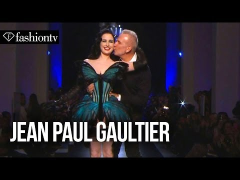 Jean Paul Gaultier Spring/Summer 2014 ft. Dita Von Teese | Paris Couture Fashion Week | FashionTV