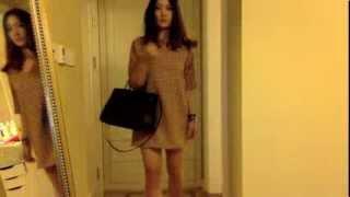 SAINT LAURENT sac de jour modeling in 3 outfits!! Thumbnail