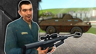 BASE WAR AGAINST OTHER PLAYERS! - Garry's Mod Gameplay - Gmod Base Wars