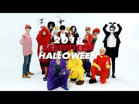 SEVENTEEN'S 2018 HALLOWEEN (or things you didn't notice...)