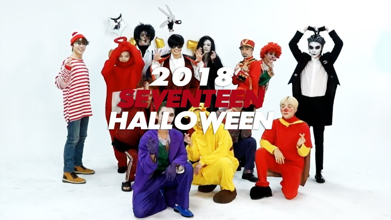 seventeen's 2018 halloween (or things you didn't notice) - youtube