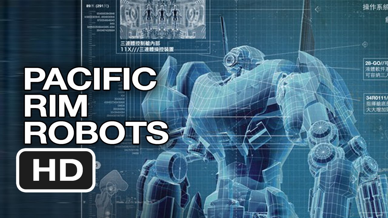 pacific rim robot blueprints 2013 guillermo del toro movie hd youtube - How Do You Make Blueprints