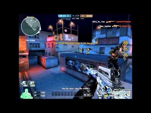 CrossFire VietNam - M4A1 -S Transformer Vs Mutants [HMX]
