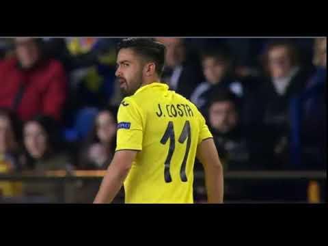 Villareal-Lyon 0-1 Traore Goal Uefa Euro League 22/01/2018