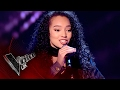 Lia White performs 'FourFiveSeconds': Blind Auditions 6 | The Voice UK 2017