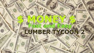 [Débutants] Comment faire $Money$ EXPRES et SAFE .fr Lumber Tycoon 2 - France Roblox