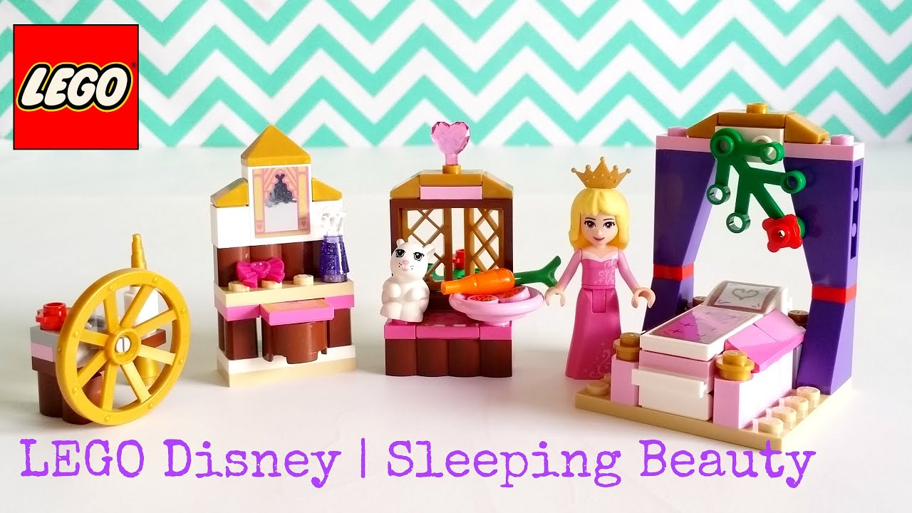 Lego disney princess 41060 sleeping beauty s royal bedroom 96pcs