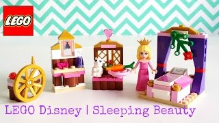 Lego Disney Princess 41060 Sleeping Beauty's Royal Bedroom - 96pcs - Unboxing, Speed Assembling