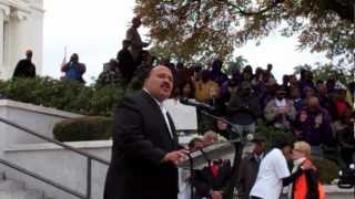 Martin Luther King III Speaks At Alabama Capitol Human Rights Rally