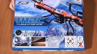 JJRC H12C - дешевый квадрокоптер с камерой и автовозвратом
