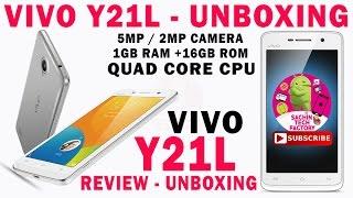 VIVO Y21L unboxing VIVO y21L REVIEW