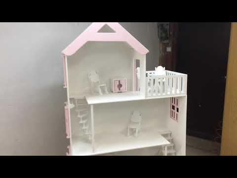 Кукольный домик для кукол барби
