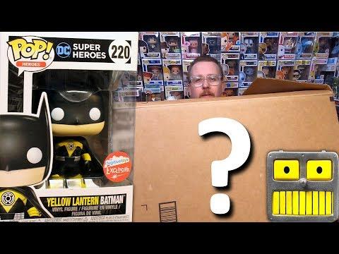 Mega Epic Giant Mystery Box  of DC Comics Funko Pops