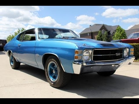 2014 Chevy Ss For Sale >> 1971 Chevrolet Chevelle Malibu SS454 For Sale - YouTube