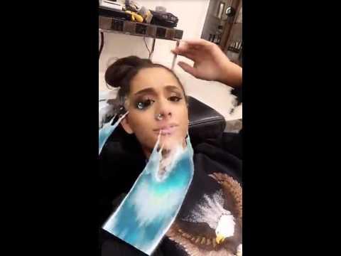 Ariana Grande's Snapchat story 2016-03-20/ Snap My Chat