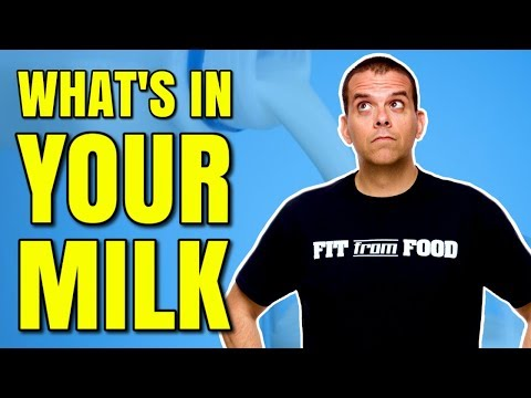 ALMOND MILK VS COW'S MILK / WHAT'S IN MILK
