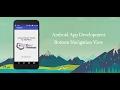 Android Studio Tutorial - Bottom Navigation View