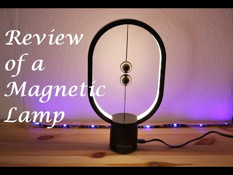 Eye Catching Unique Magnetic Lamp......