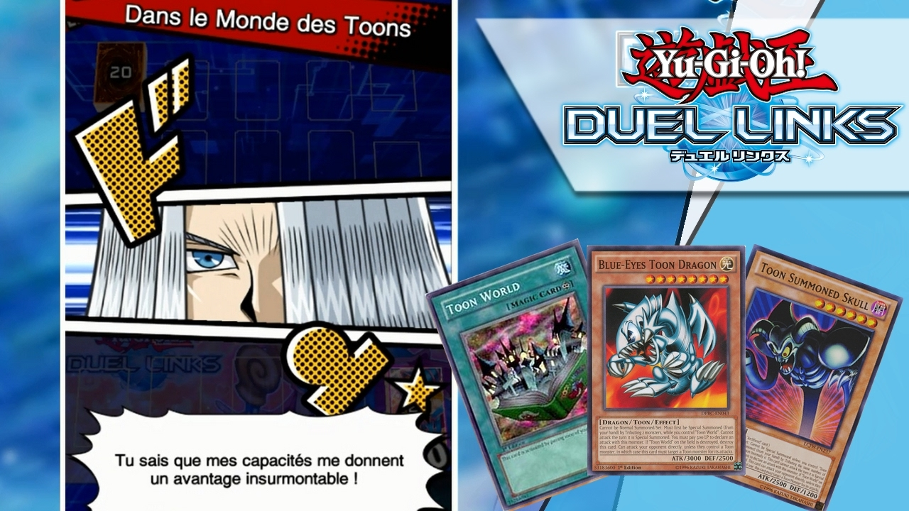 yu gi oh duel links deck toon youtube