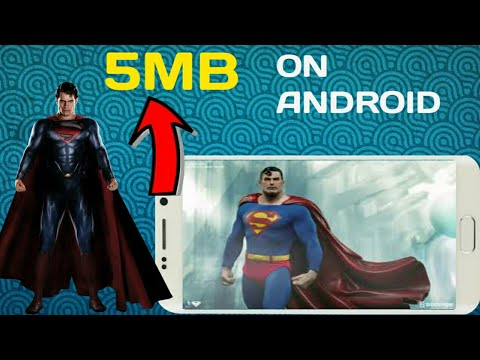 (HD GAME)how To Download And Play SUPERMAN GAME IN ANDROID