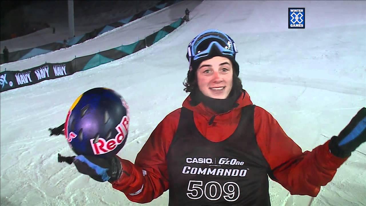 mark mcmorris slopestyle gold winter x games youtube