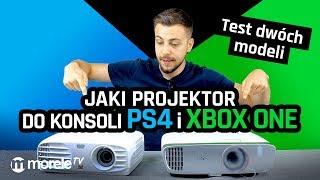 Jaki projektor do konsoli PS4 i Xbox One | Test BenQ i Viewsonic