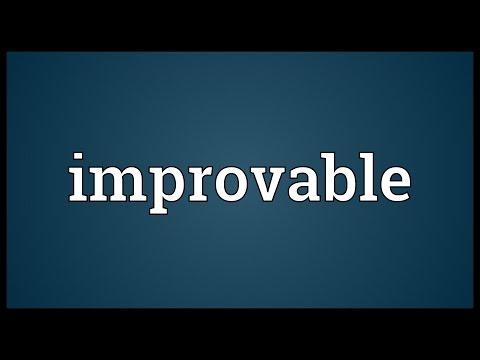 Header of improvable