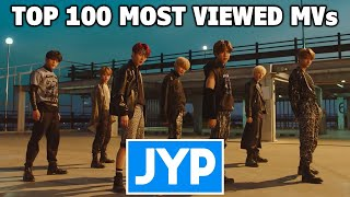 [TOP 100] Most Viewed JYP Music Videos (March 2021)
