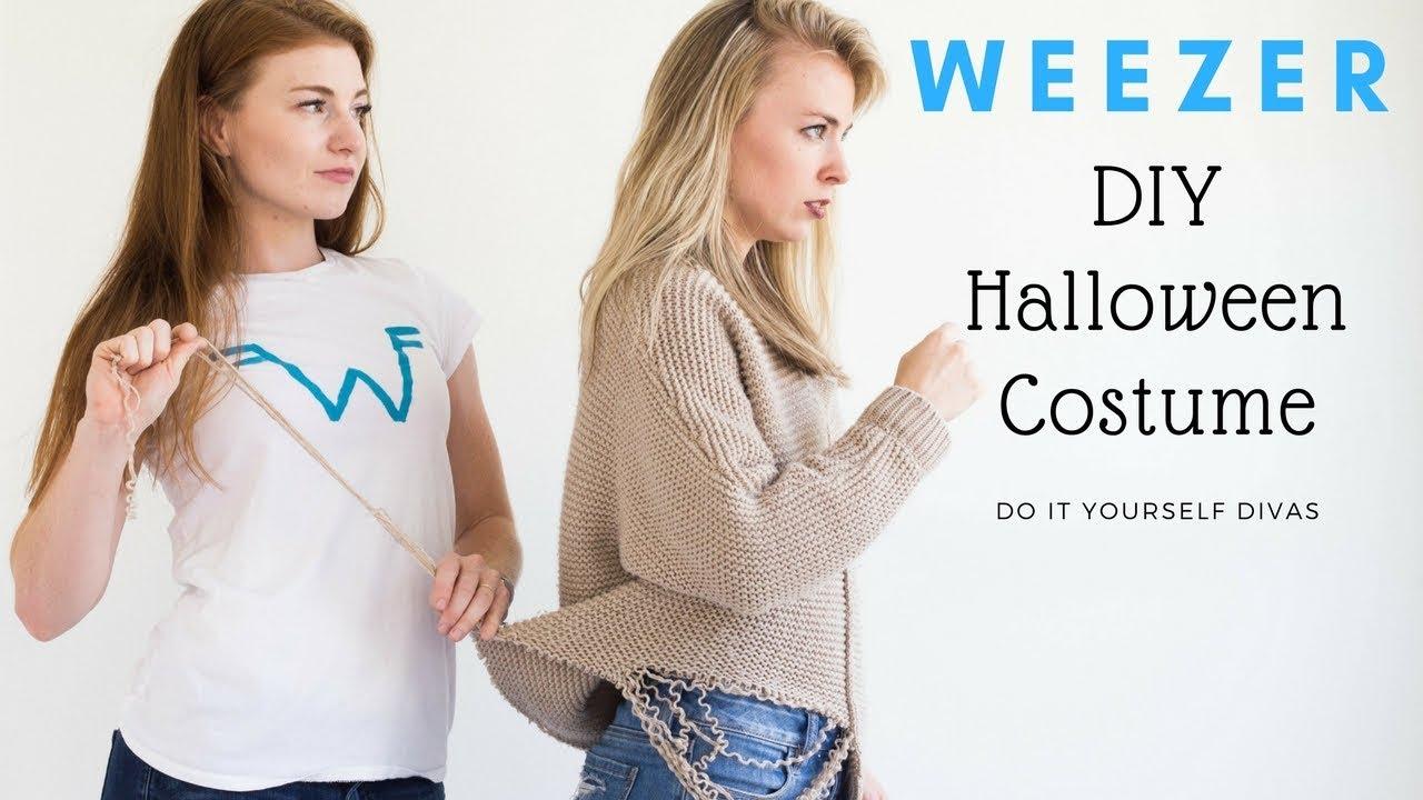 Diy weezer halloween costume sweater song youtube diy weezer halloween costume sweater song solutioingenieria Choice Image