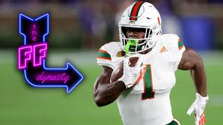 Mark Walton is Young & Raw but very Talented  | The FF Dynasty - Fantasy Football