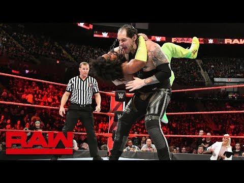 No Way Jose & Titus Worldwide vs. Baron Corbin & The Revival: Raw, May 7, 2018
