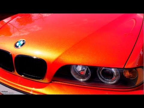 Эксклюзивная покраска авто. Цвет краски меняется на глазах. БМВ фестиваль 2015