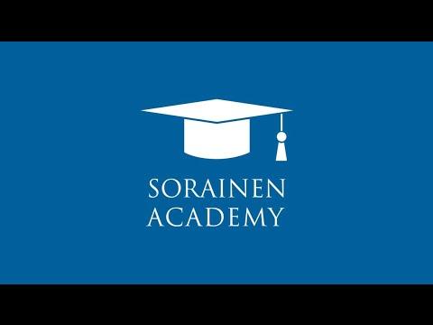 SORAINEN Academy - pane enda karjäärile algus juba TÄNA!