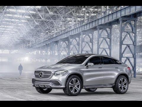 Mercedes Concept Coupé SUV MLC-Vorschau
