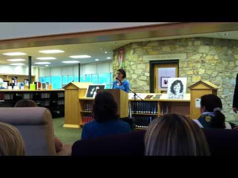 Jan Scott Dedication, April 16, 2011 - Lisa Wright