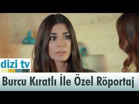 Burcu Kıratlı ile özel röportaj yaptık! - Dizi Tv 570. Bölüm