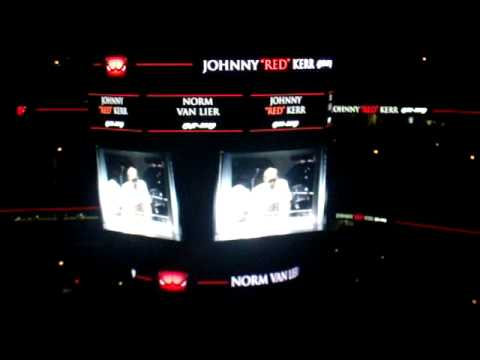 "Johnny ""Red"" Kerr and Norm Van Lier Tribute at the United Center"