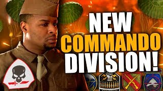 """NEW """"COMMANDO"""" DIVISION REVEALED! Choose Spawn, New Basic Trainings, Big Update Coming!"""