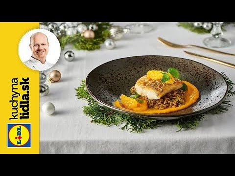 Šťuka s mrkvovým pyré a šošovicovým šalátom 🐟  | Roman Paulus | Kuchyňa Lidla