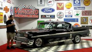 1958 Chevy Impala Classic Muscle Car for Sale in MI Vanguard Motor Sales