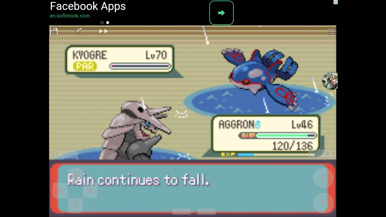 pokemon emerald how to get kyogre