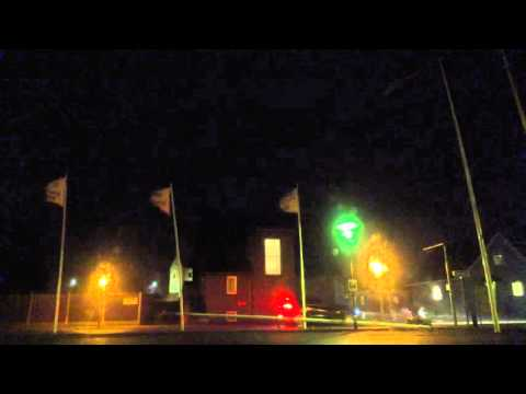 """Severe Windstorm """"Gorm"""" hits Hvide Sande, Denmark"""